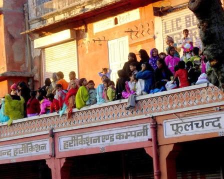 Processione dell'Ashura a Jaipur