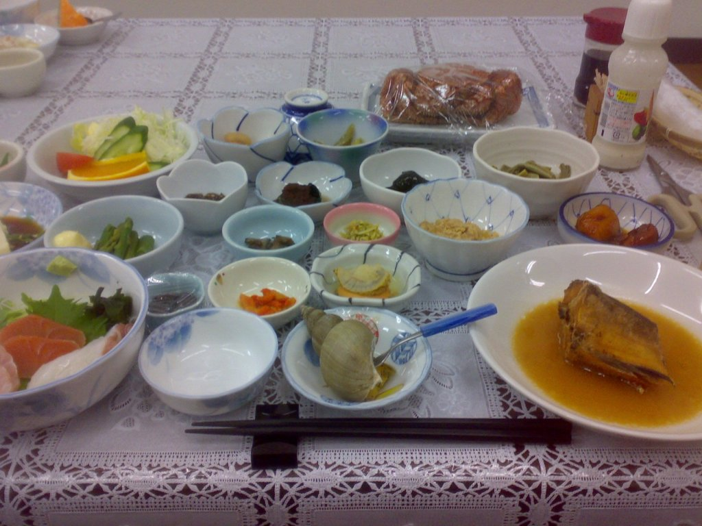 Favolosa cena in minshuku