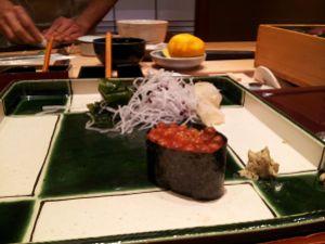 Sushi a Ginza Kyubey