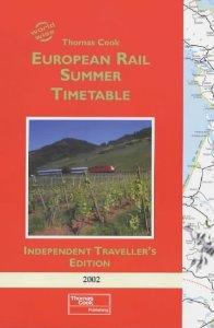 European rail summer timetable