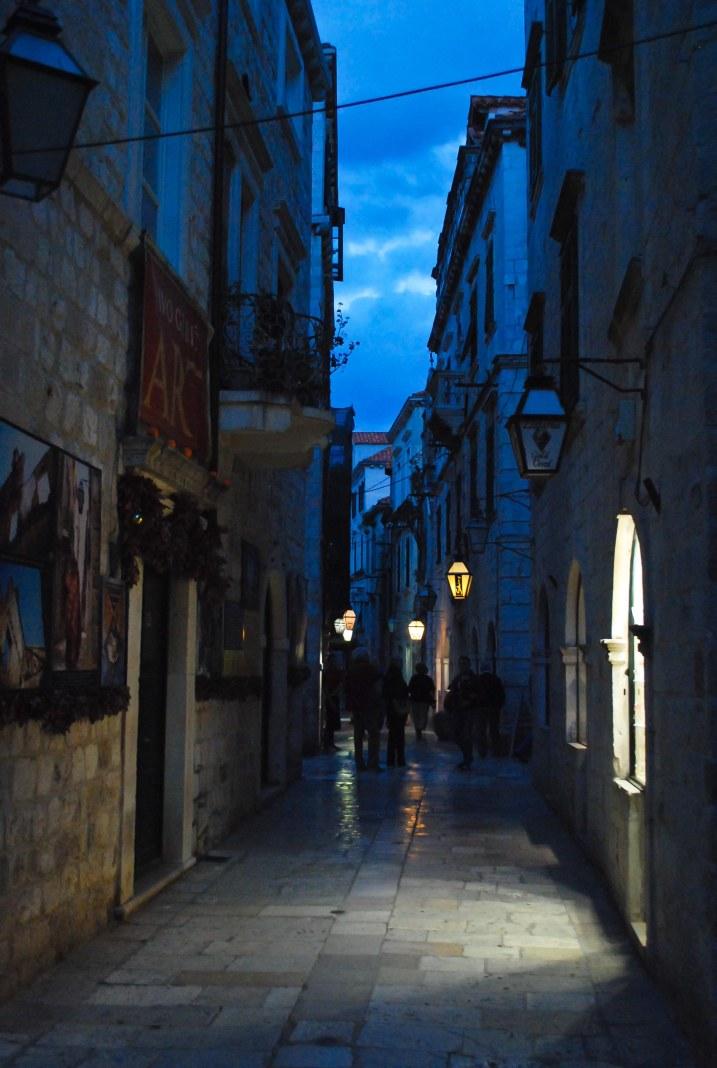 Per i vicoli di Dubrovnik