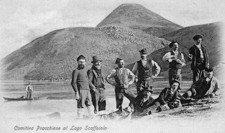 Lago Scaffaiolo, foto antica