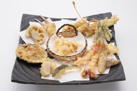 Tsunahachi tempura