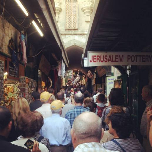 La via crucis del venerdì a Gerusalemme