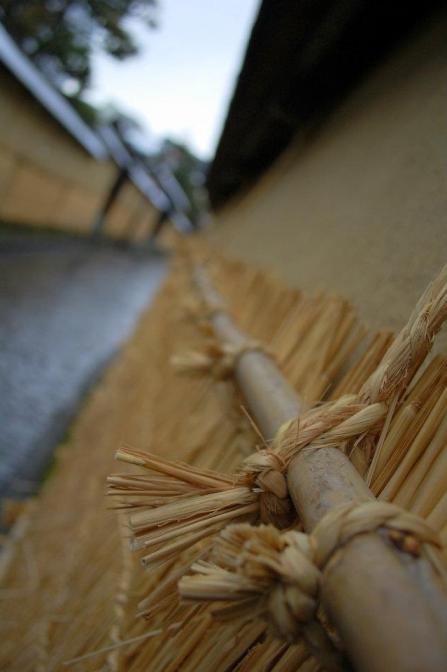 The samurai houses of Kanazawa in winter