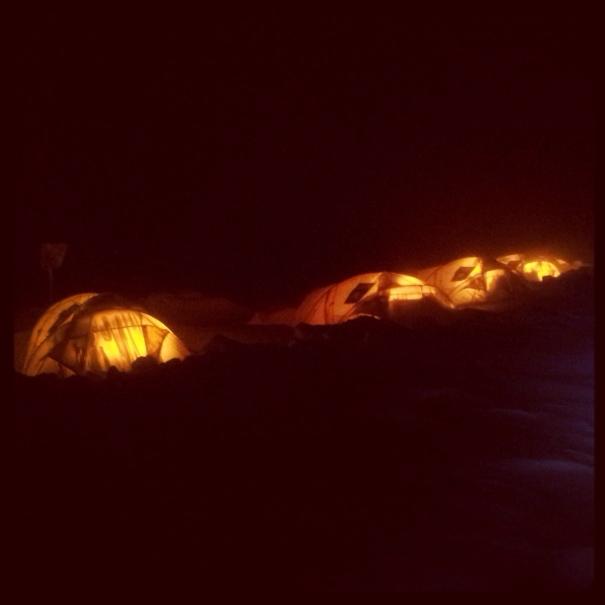 Salewa base camp