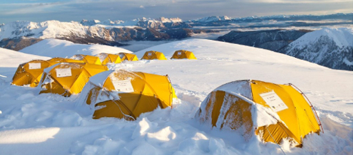 Salewa base camp
