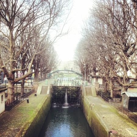 Il Canal Saint Martin (foto di Patrick Colgan, 2014)