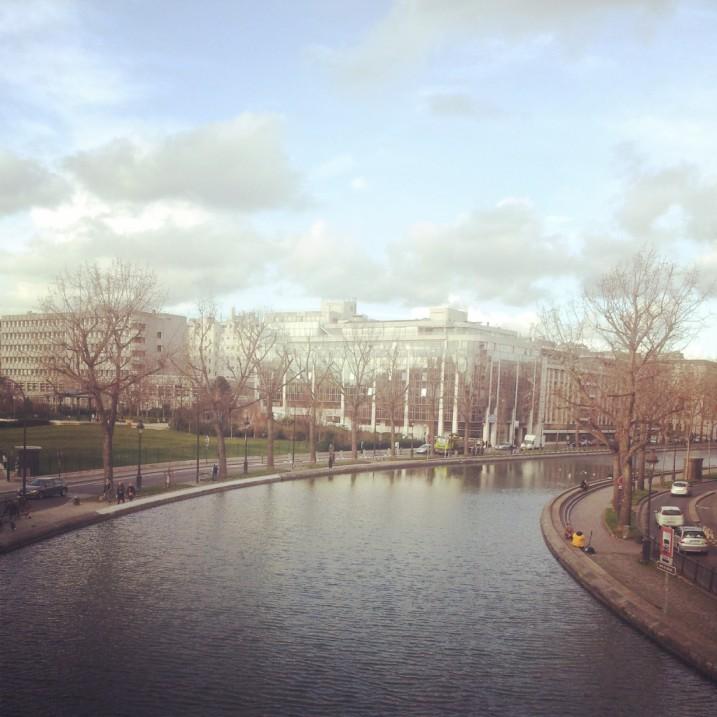 Il Canal Saint-Martin