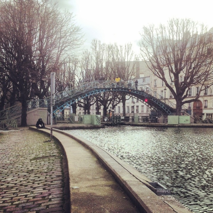 Uno dei ponti sul canale