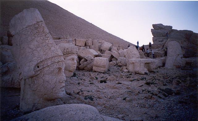 Monte Nemrut, la terrazza est