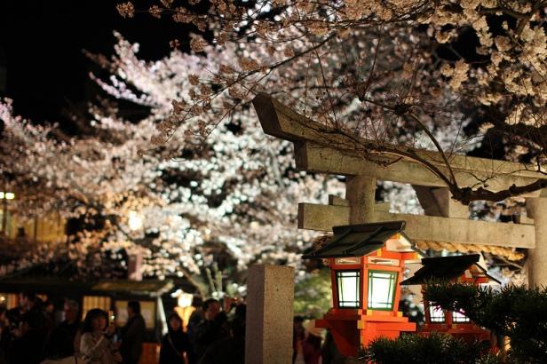 Shinbashi di notte