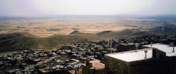 Viaggio a Mardin, la vista dalla città vecchia