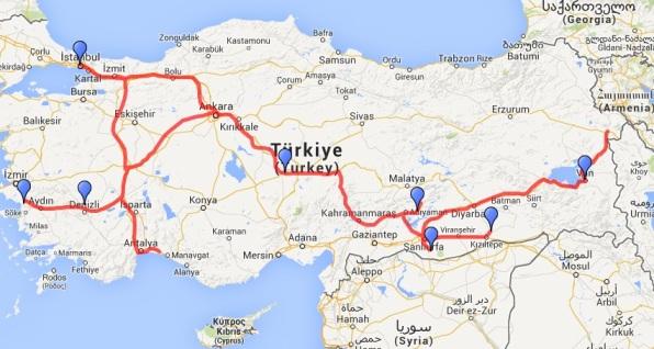 viaggio in turchia orientale