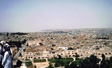 Viaggio a Urfa: la vista dal castello di Urfa