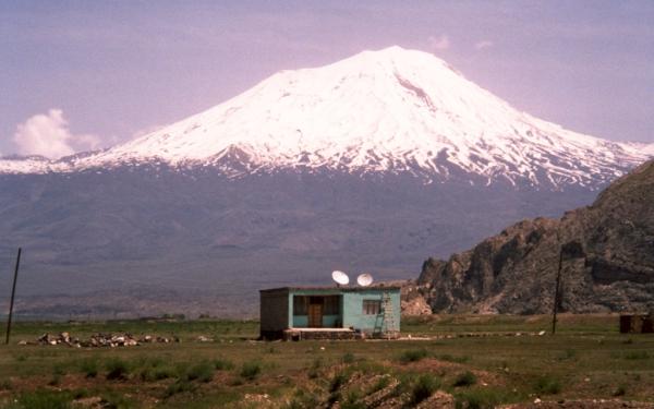 Il monte Ararat (o Agri) da Dogubayazit
