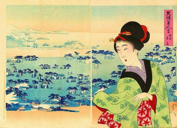 Matsushima, di Yoshu Chikanobu - 1898 (da Wikipedia Commons)