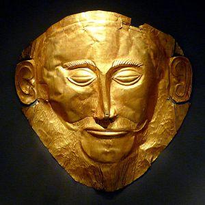 La cosiddetta Maschera di Agamennone