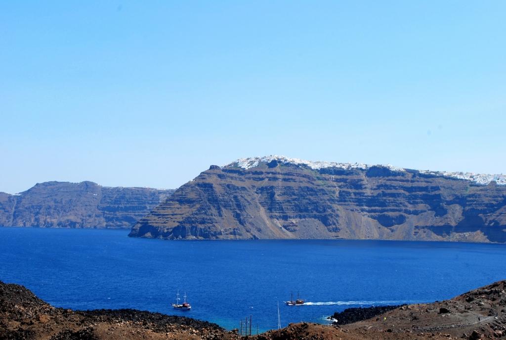 La vista dal vulcano, Santorini