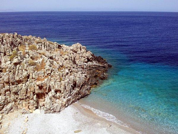 Cosa fare ad Amorgos: la spiaggia di Limineraki