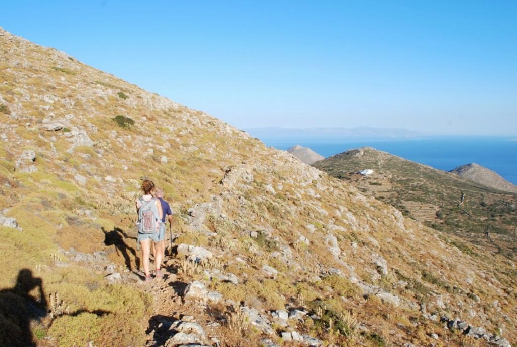 Cosa fare ad Amorgos? Trekking