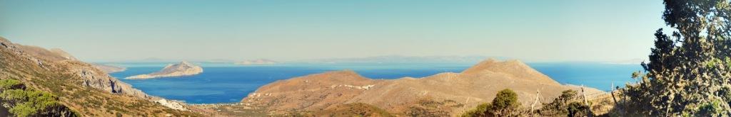 Lungo i sentieri di Amorgos (foto di Patrick Colgan, 2014)