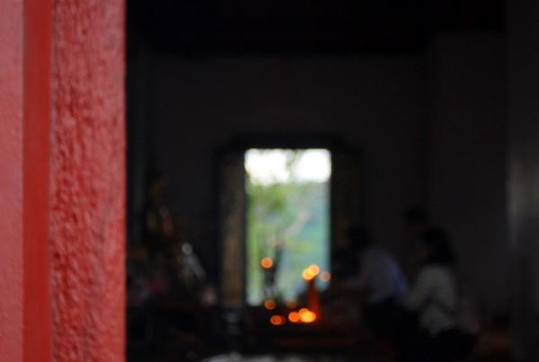 Il tempio Phu Si (foto di Patrick Colgan, 2014)