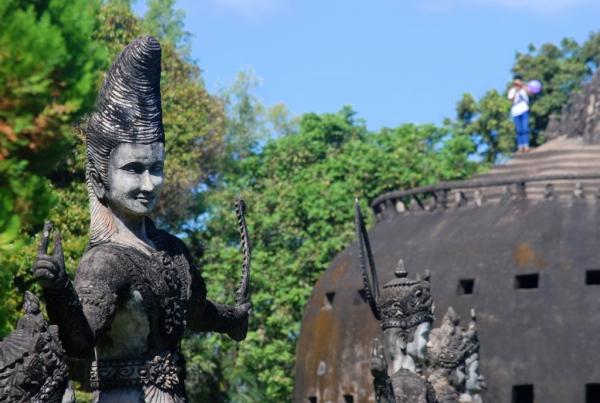 Buddha Park Laos (foto di Patrick Colgan, 2014)