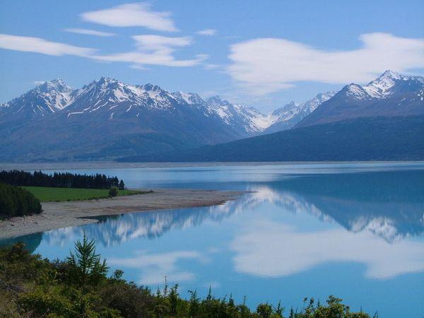 Tasman Valley, Nuova Zelanda