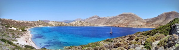 Amorgos, 2014 - isola di Nikoura: clicca per ingrandire! (foto di Patrick Colgan, 2014)