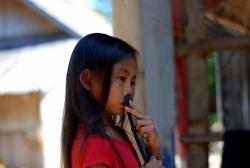 Villaggio Khmu, Laos (foto di Patrick Colgan, 2014)