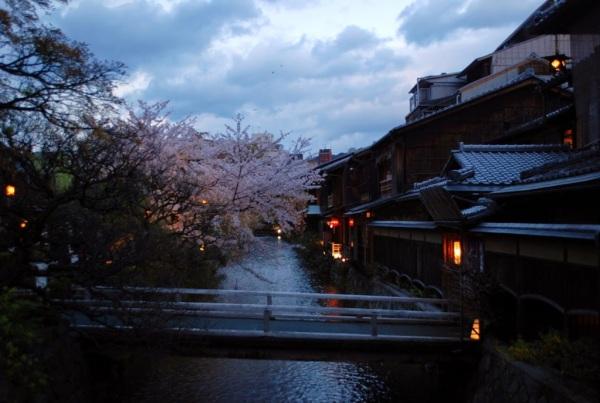 Kyoto in tre giorni: Shinbashi al crepuscolo