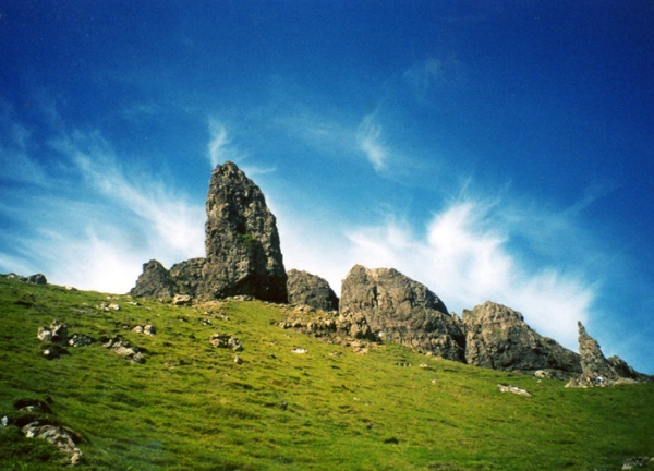 L'Old man of Storr, isola di Skye