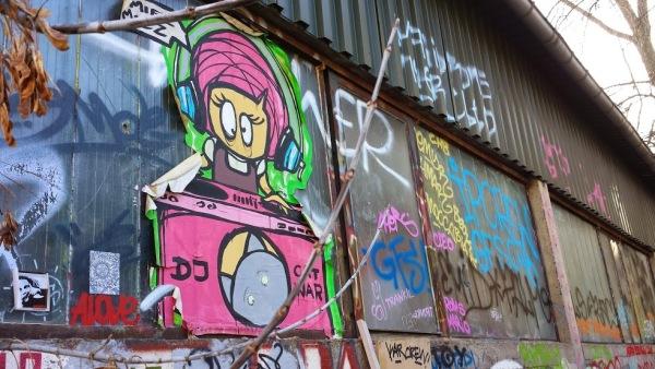 Street art a Berlino (foto di Patrick Colgan, 2015)