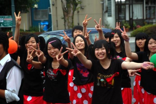 Il saluto di Hakodate (foto di Patrick Colgan, 2011)