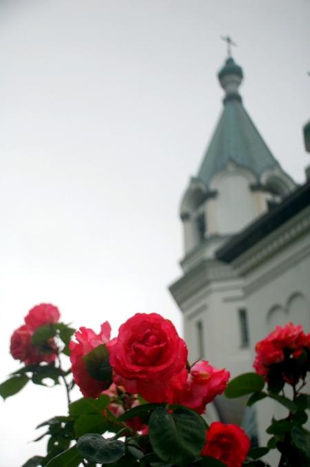 La chiesa ortodossa di Hakodate (foto di Patrick Colgan, 2011)